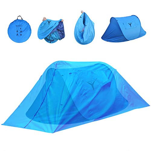 Frostfire Moontent Ultra - 2 Person Popup Tent With Waterproof Flysheet