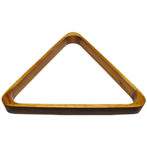 Sterling Gaming Deluxe Wood Pool Ball Triangle, Oak