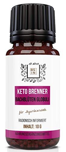 8 Sin - Keto Brenner - Keto Burn - Stoffwechsel - Natürlich- radionisch informiert - 10g