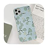 Beautiful Blue Lotus - Cover per iPhone 11 Pro XS Max X XR Shockproof in silicone per iPhone 7 8 Plus Cover Girl Gift-Style 12-for iPhone 7 or 8