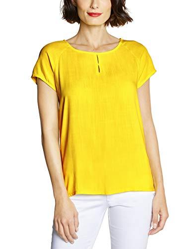 Street One Damen 341433 Bluse, Sunshine Yellow, (Herstellergröße:38)