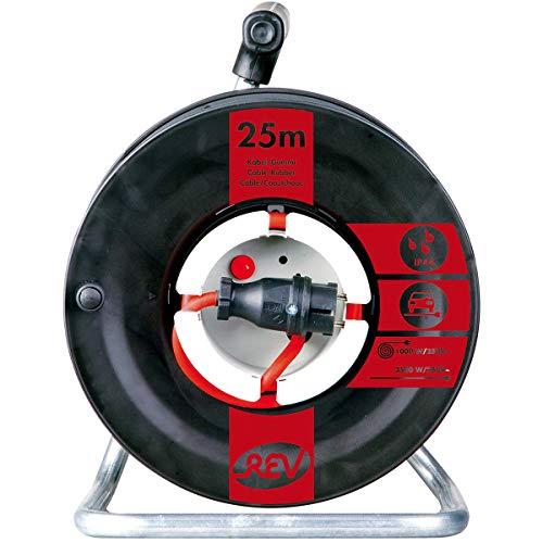 REV Ritter 0088546 Gerätetrommel 25 m, IP44 H07 RN 3G1,5