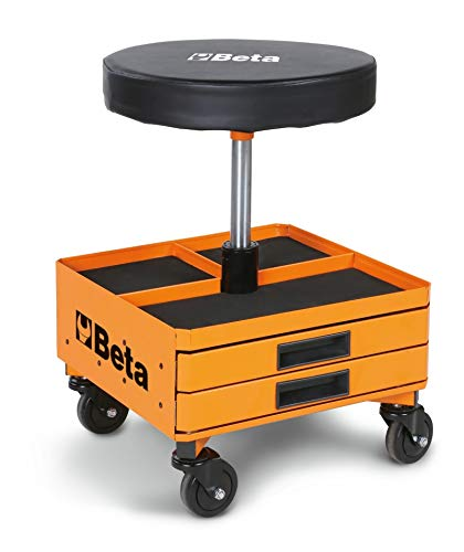 seggiolino officina Beta 22510011 SEGGIOLINI GIREVOLI con CASSETTI Orange