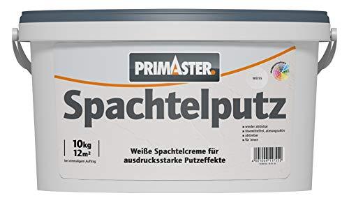 PRIMASTER Spachtelputz 10 kg lösemittelfrei Strukturputz Putz