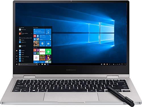 "2019 Samsung Notebook 9 Pro 2-in-1 13.3"" FHD Touch-Screen Laptop - Intel i7, 8GB DDR4, 256GB PCI-e SSD, 2X Thunderbolt 3, Webcam, WiFi, Fingerprint Reader, Active Pen, 2.84 LBS, 0.5"", Titan Platinum"