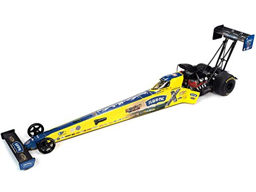 2020 NHRA Funny Car TFD (Top Fuel Dragster) Brittany Force Flav-R-Pac John Force Racing 1/24 Diecast Model Car by Autoworld CP7702