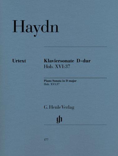 Sonate Hob.XVI:37 Ré Maj. - Piano PDF Books