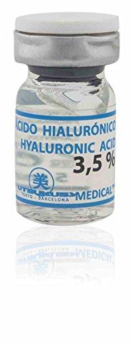 3,5% Hyaluronsäure (steril) für Microneedling (Derma Pen) und Mesotherapie (Dermaroller) Behandlungen - Professionelles Microneedling Serum. Ampulle mit 5 ml Hyaluron-Serum