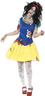 Smiffy's Zombie Snow Fright Costume, Multi-Colour, Small, 23352S