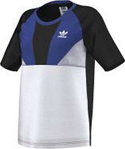 Adidas Originals Archive Run Camiseta para mujer - 8 azul - negro - blanco