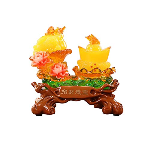 Productos de decoración Golden Toad Inying Office Desktop Decoration Store Apertura Nuevo CASA CASA CASA DE CASA DE Cuidadora DE DOYA DE Dorado Sapo Decoración Ornamento de Escrit