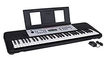 YAMAHA YPT260 61-Key Portable Keyboard with Power Adapter  Amazon-Exclusive