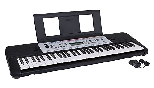 YAMAHA YPT260 61-Key Portable Keyboard with Power Adapter (Amazon-Exclusive)