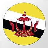 Kühlschrank Magnet Brunei Darussalam Flagge Asien Flag Magnettafel Whiteboard