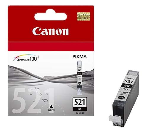 Inkjetpatrone CLI-521, für PIXMA iP-3600/4600, MP-540/620/630/980, schwarz