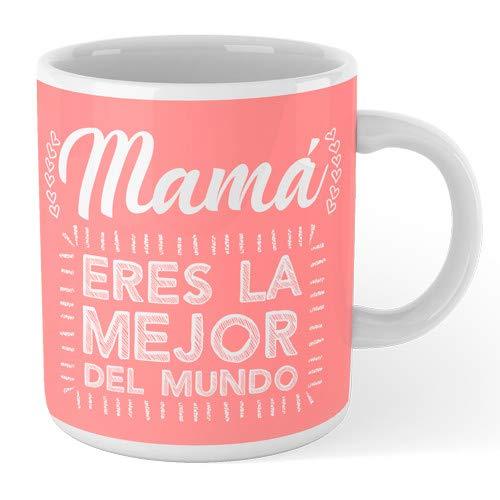 SUPERMOLON Taza'Mamá eres la mejor del mundo'