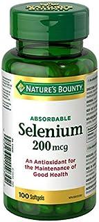 Nature's Bounty Selenium 200mcg, 100 Capsules
