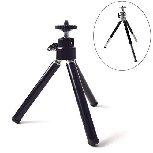 Draagbaar mini-statief met kogelkop-tafelstandaard voor mini-projector, beamer, compacte camera's, DSLR's of andere 1/4 inch schroeven interface-apparaten