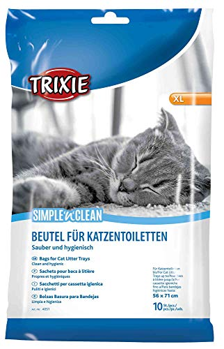 Trixie 4051 Simple\'n\'Clean Katzentoilettenbeutel, XL, 10 St.