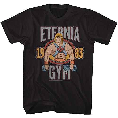 Official He-Man Eternia Gym 1983 T-shirt, S to 6XL
