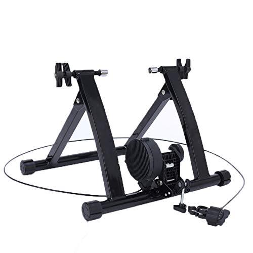 Cykelutbildning Plattform, Magnetisk Motståndstråd Styrt Cykel Ridning Plattform Mountain Road Bike Ridning Training Rack, Lämplig för Inomhus Utbildning