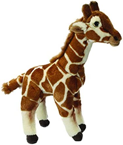 LIVING NATURE REALISTIC WILD GIRAFFE SOFT TOY 32CM by Living Nature