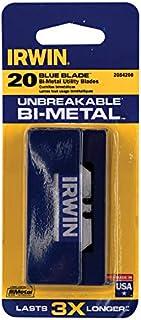 Irwin Bi-Metal Utility Blades with Dispenser - 20 Pack - 2084200