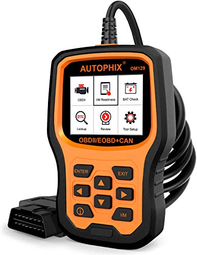 AUTOPHIX OM129 OBD2 Scanner Auto Code Reader Car Diagnostic Scan Tool with Graphing Battery Test for...