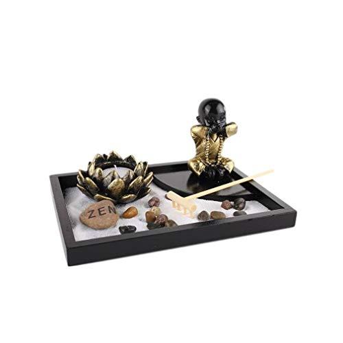 lachineuse Jardin Zen de Sagesse - Décoration Asiatique