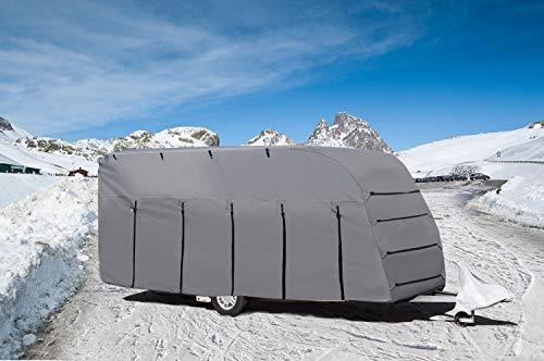 Aequator - Funda protectora para caravanas, 450-500 cm