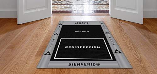 OBLITE Alfombra - Felpudo desinfectante Premium para desinfección de Calzado. Ideal para Negocio y hogar (58x95) - Made in Spain