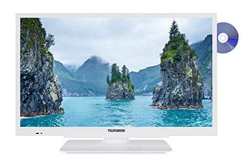 Telefunken XH24G101D-W 61 cm (24 Zoll) Fernseher (HD ready, Triple Tuner, DVD-Player integriert)