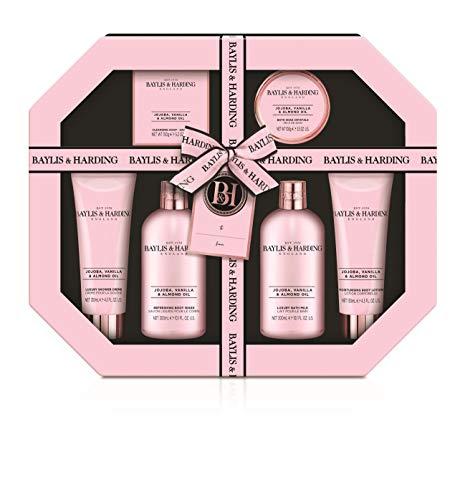 Baylis & Harding Ultimate Luxury Pamper Gift Set, Jojoba/Vanilla & Almond Oil