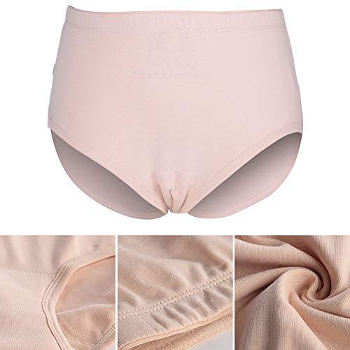 Incontinentie-ondergoed voor vrouwen, herbruikbare blaascontrolebroekjes voor vrouwen, met maximaal absorptievermogen voor chirurgische herstel, ademend incontinentiekussen voor