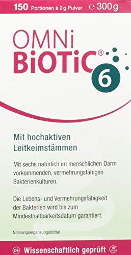 INSTITUT ALLERGOSAN Deutschland (privat) OMNI BIOTIC 6, 300 Stück