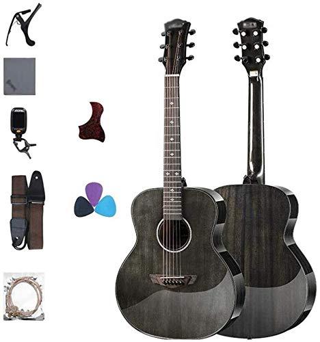 Guitarra eléctrica Guitarra acústica 6 cuerdas 40 pulgadas guitarras acústicas Guitarra Clásica...