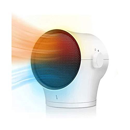 DWJ Calentador portátil del Calentador portátil del Calentador portátil del Calentador PTC 60 Grados;Utilizado en el apartamento en la Oficina en el hogar, una protección Tranquila, sobrecalentadora.