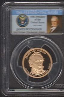 2010 S United States Presidential (2007-2016) James Buchanan $1 PR-69 DCAM PCGS