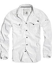 Brandit Slim Fit Shirt Longsleeve zwart Casual wear