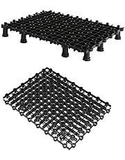 POPETPOP Divisor de Acuario de 2 Paquetes: Divisor de Acuario con Placa de Aislamiento de Acuario con pies de Soporte Divisor de Separador de Tanque de Peces para cría de acuarios
