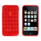 Logotrans Rhombus Series - Funda para iPhone 3G/3GS, color rojo