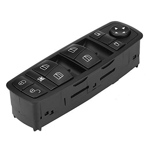 Qiilu Interruttore Pulsante Finestrino Auto Potenza di Controllo Elettrico, Interruttore Alzacristallo per A B GL ML R Class W169