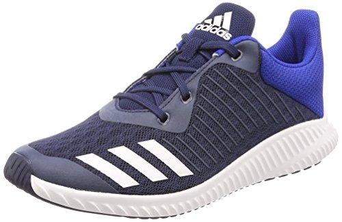 adidas Unisex-Kinder Fortarun K Gymnastikschuhe, Blau (Collegiate Navy/FTWR White/Collegiate Royal), 36 2/3 EU