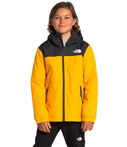 The North Face Boys' Warm Storm Rain Jacket, Summit Gold, XL