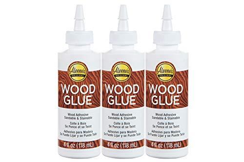 Aleene's 40645 Glue Wood Adhesive, 4 fl oz - 3 Pack, Multi