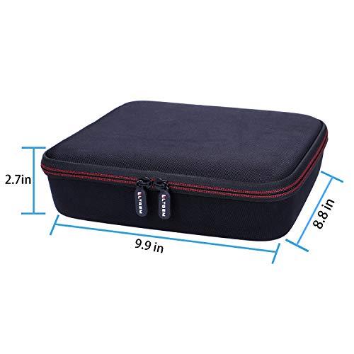 LTGEM EVA Hard Case for WD 3TB,4TB,6TB,8TB,10TB My Book/Elements Desktop External Hard Drive - Travel Protective Carrying Storage Bag (Black)