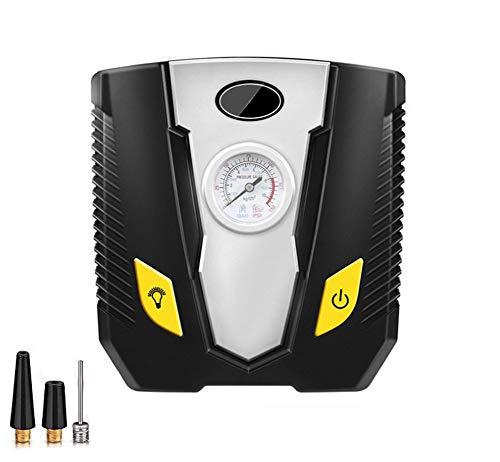 YOTG Bomba de compresor de Aire portátil, LED iluminación de neumáticos inflador...
