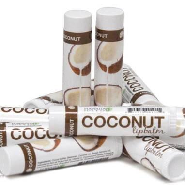 3x Kokos Lippenbalsam Lippenpflegestift Handgefertigt Rein Natürliche Pflege ohne Chemie feucht pflegend langanhaltend