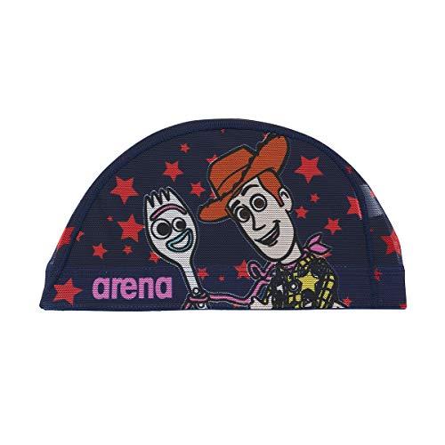アリーナ (arena) スイミング用メッシュキャップ ディズニー ポリエステルパワーネット ネイビー Mサイズ DIS-0359