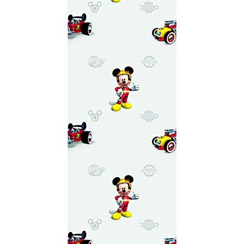 AG Design Fototapete Disney Mickey Mouse Vliestapete Fototapete Kinderzimmer 0,53 x 10,05 1 Rolle WPD 9771